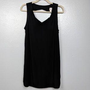 Gap black soft shift dress NWT